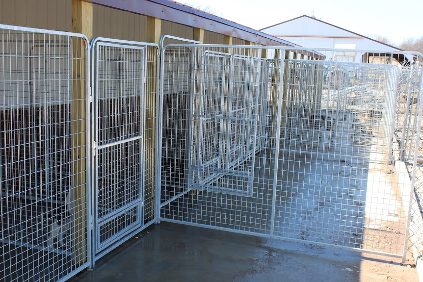 At Sweet Pea Kennels dogs have constant access to the outdoors. This gives your dog more room to play than any other boarding or daycare facility in Cape Girardeau County.